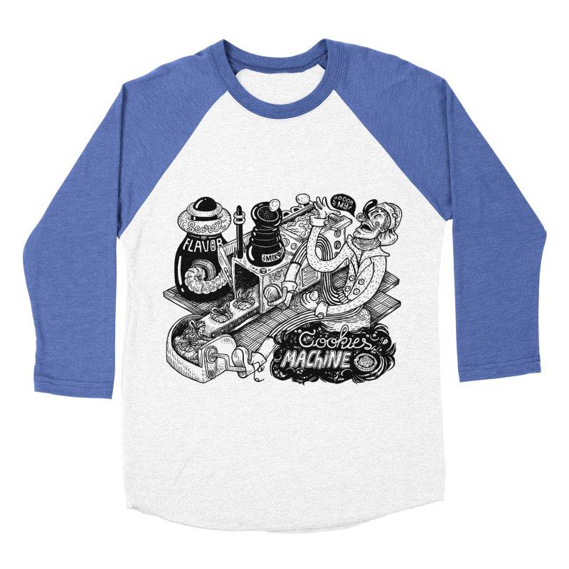 Cookies Machine Men's Baseball Triblend Longsleeve T-Shirt by MrCapdevila Artist Shop