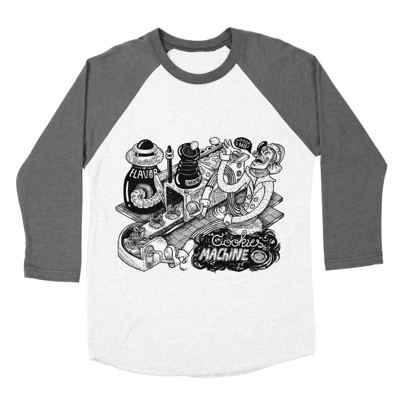 Cookies Machine Men's Baseball Triblend Longsleeve T-Shirt by MrCapdevila Artist Shop
