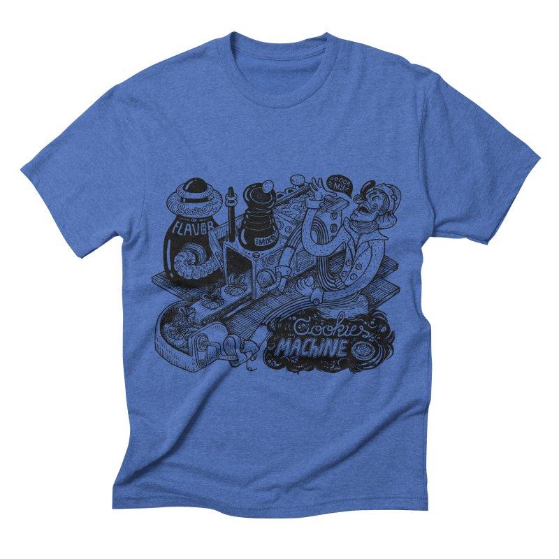 Cookies Machine Men's Triblend T-shirt by MrCapdevila Artist Shop