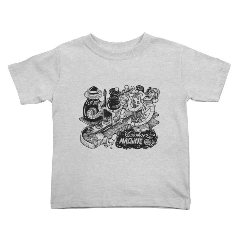 Cookies Machine Kids Toddler T-Shirt by MrCapdevila Artist Shop