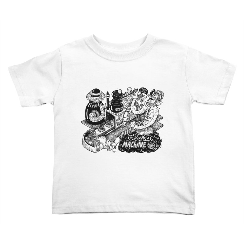 Cookies Machine Kids Toddler T-Shirt by MrCapdevila Artist Shop