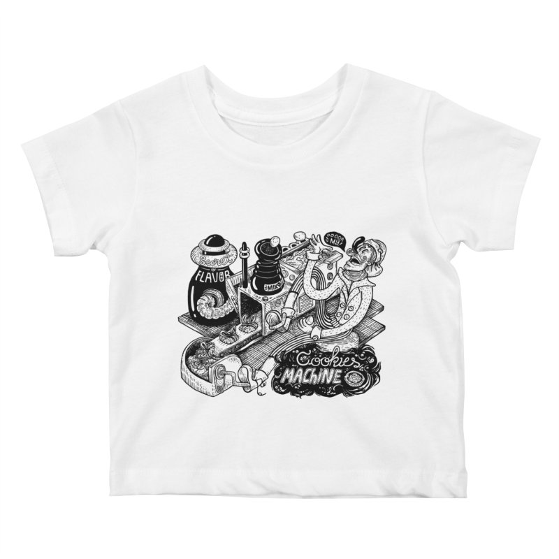 Cookies Machine Kids Baby T-Shirt by MrCapdevila Artist Shop