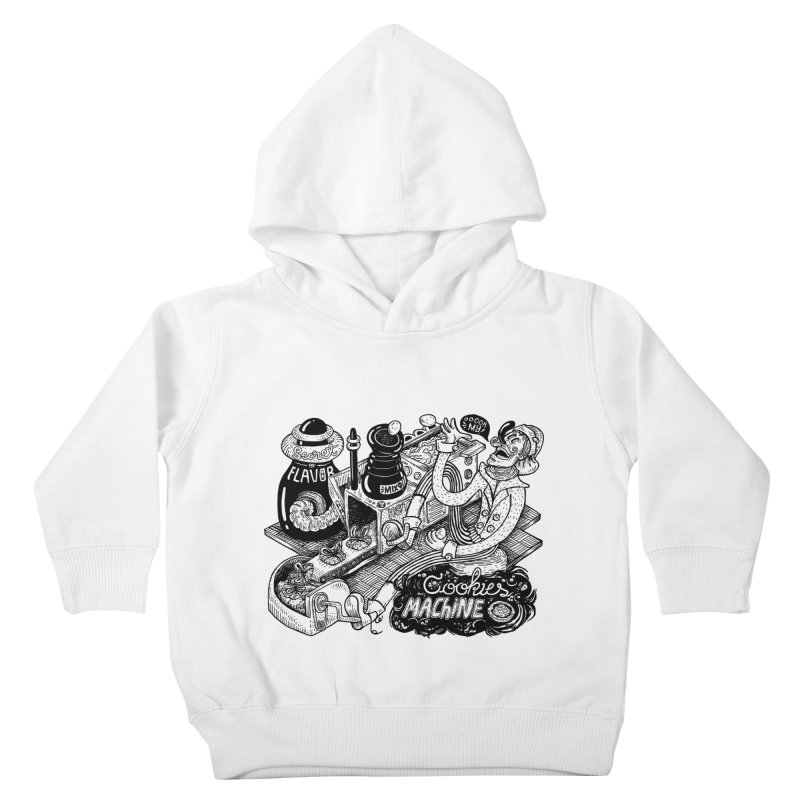 Cookies Machine Kids Toddler Pullover Hoody by MrCapdevila Artist Shop