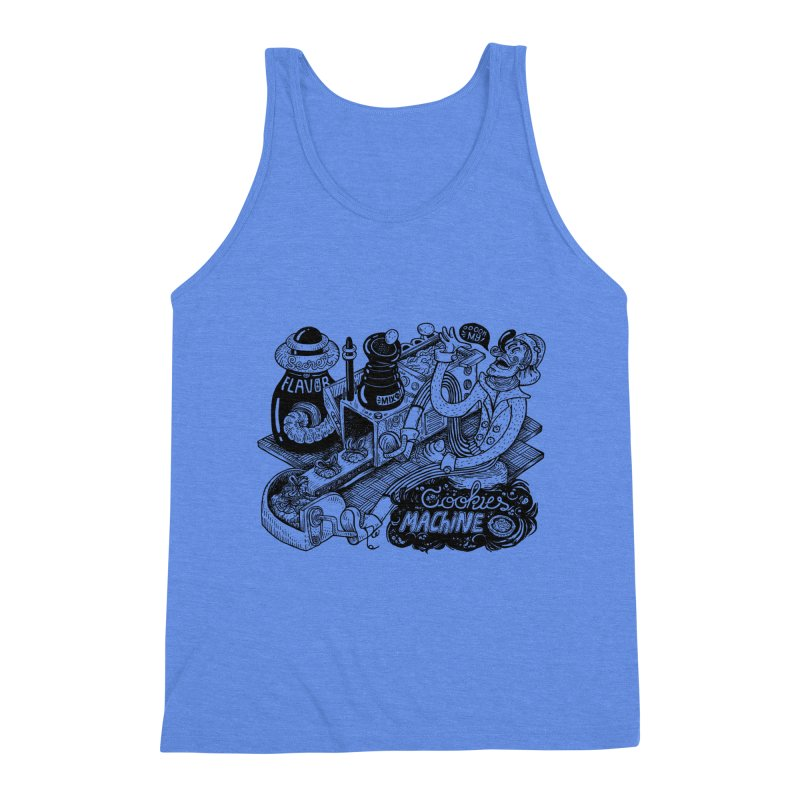 Cookies Machine Men's Triblend Tank by MrCapdevila Artist Shop