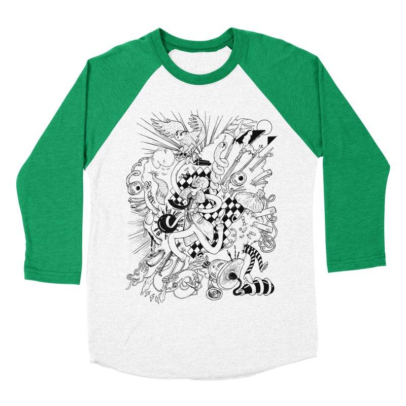 I've seen things (Tears in rain) Men's Baseball Triblend T-Shirt by MrCapdevila Artist Shop