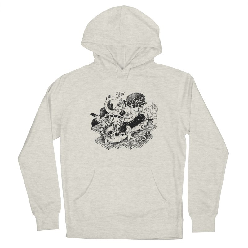 Gasfiter Galaz Men's Pullover Hoody by MrCapdevila Artist Shop