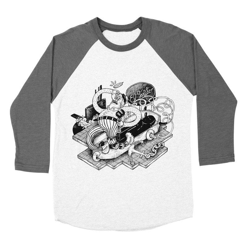Gasfiter Galaz Men's Baseball Triblend Longsleeve T-Shirt by MrCapdevila Artist Shop
