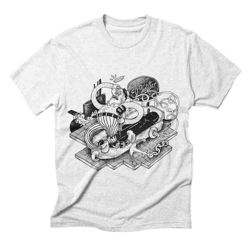 Gasfiter Galaz Men's Triblend T-shirt by MrCapdevila Artist Shop