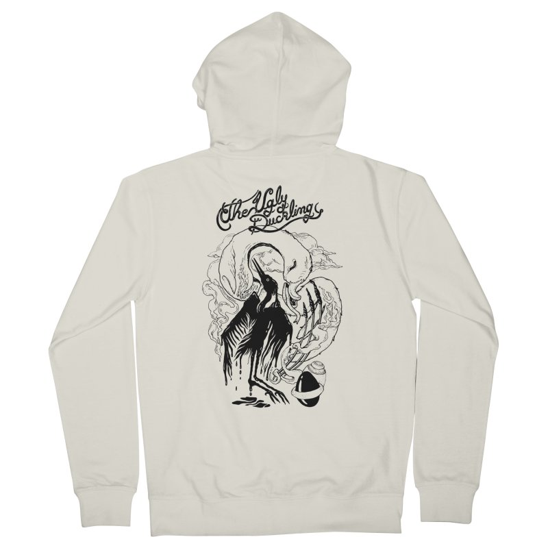 The Ugly Duckling 1843 Men's Zip-Up Hoody by MrCapdevila Artist Shop