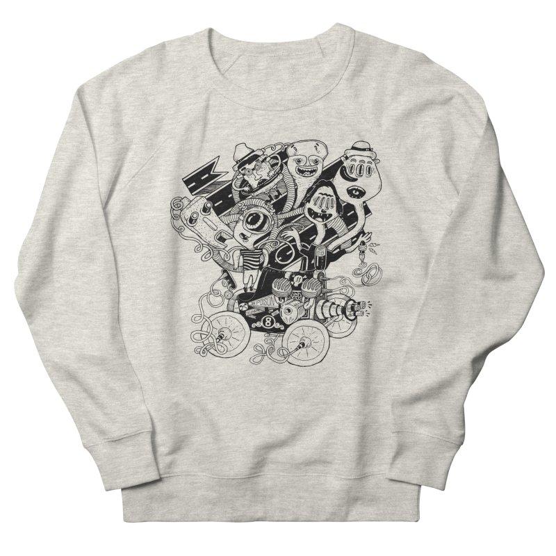 Monster RoadTrip Men's Sweatshirt by MrCapdevila Artist Shop