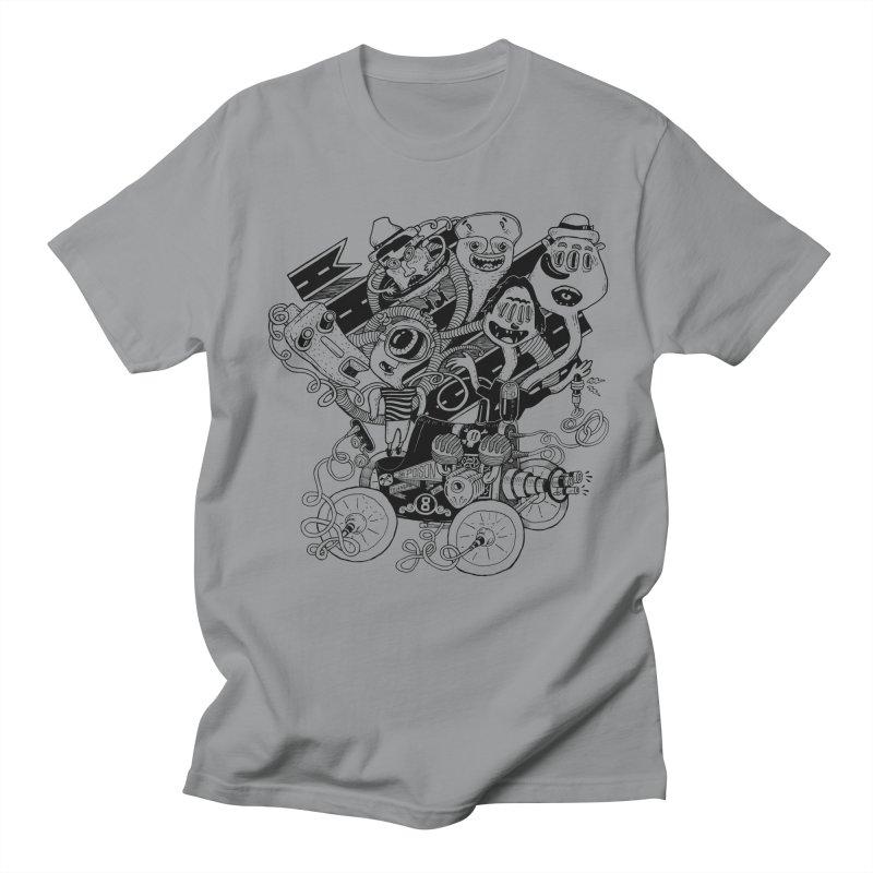 Monster RoadTrip Men's T-Shirt by MrCapdevila Artist Shop