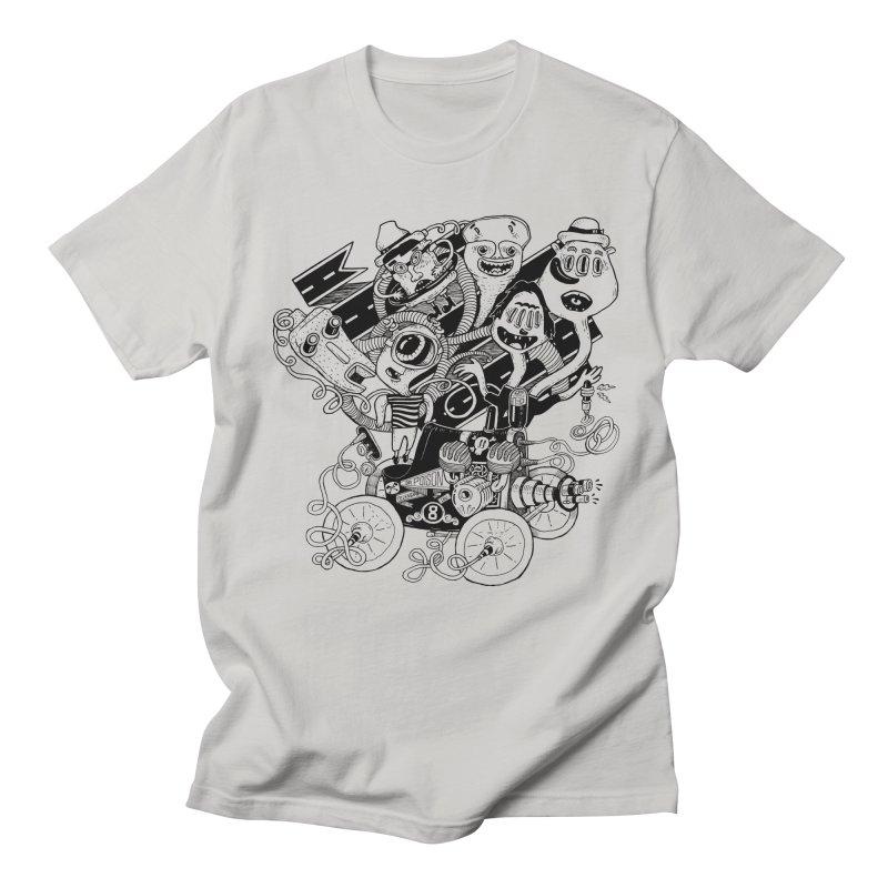 Monster RoadTrip Men's Regular T-Shirt by MrCapdevila Artist Shop
