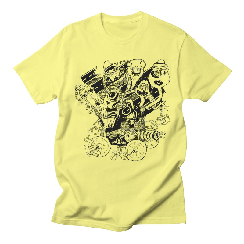 Monster RoadTrip Men's T-Shirt by MrCapdevila Artist Shop
