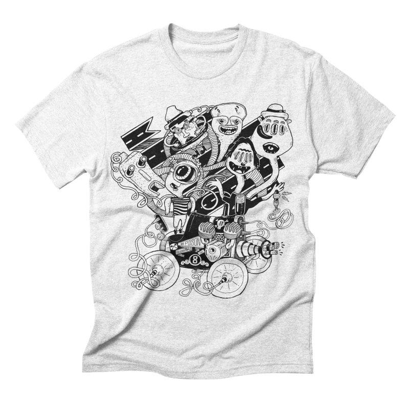 Monster RoadTrip Men's Triblend T-shirt by MrCapdevila Artist Shop