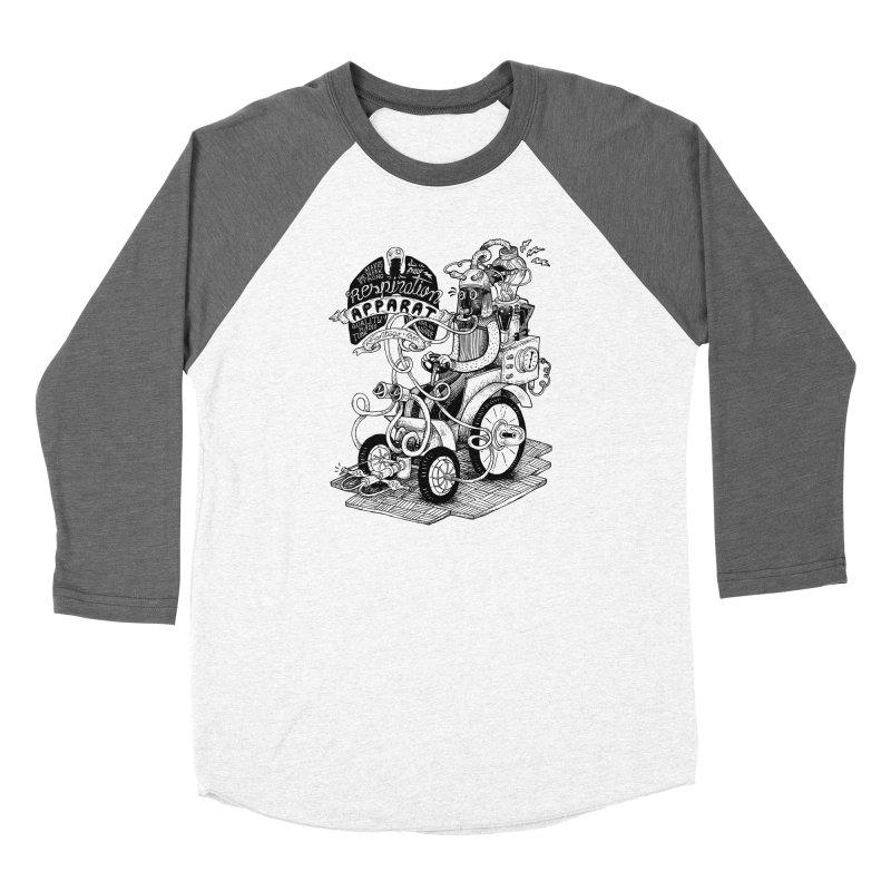 Respiration-Apparat Men's Baseball Triblend Longsleeve T-Shirt by MrCapdevila Artist Shop