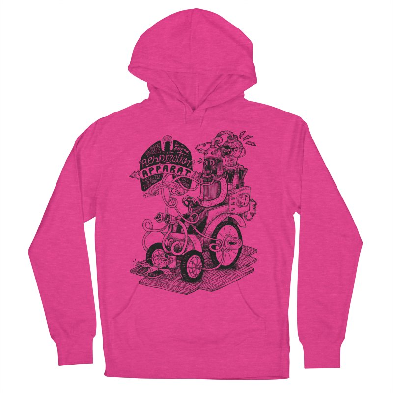 Respiration-Apparat Men's French Terry Pullover Hoody by MrCapdevila Artist Shop