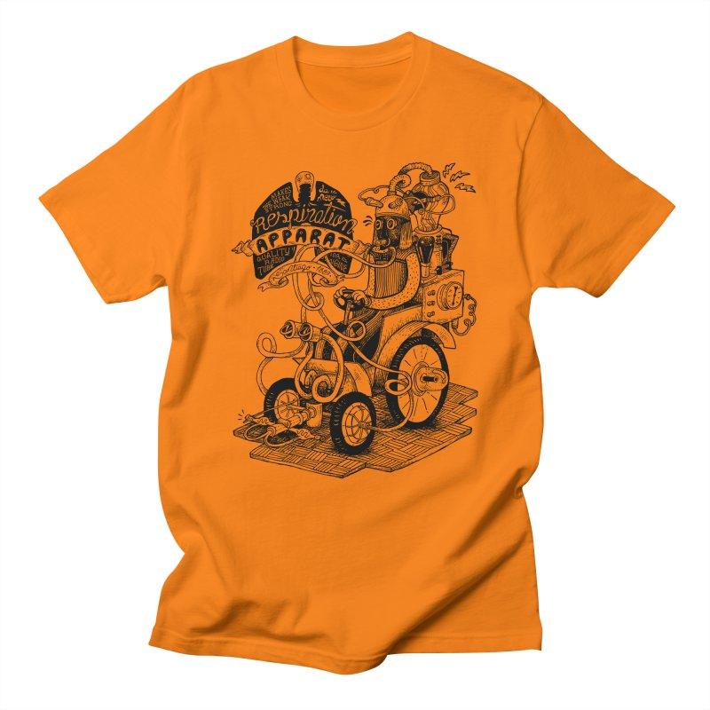 Respiration-Apparat Men's Regular T-Shirt by MrCapdevila Artist Shop