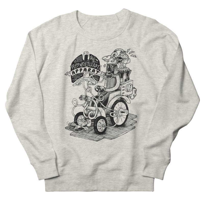 Respiration-Apparat Men's French Terry Sweatshirt by MrCapdevila Artist Shop