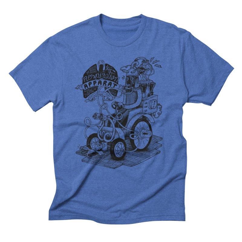 Respiration-Apparat Men's Triblend T-Shirt by MrCapdevila Artist Shop