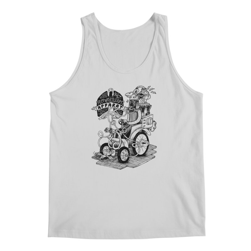 Respiration-Apparat Men's Tank by MrCapdevila Artist Shop