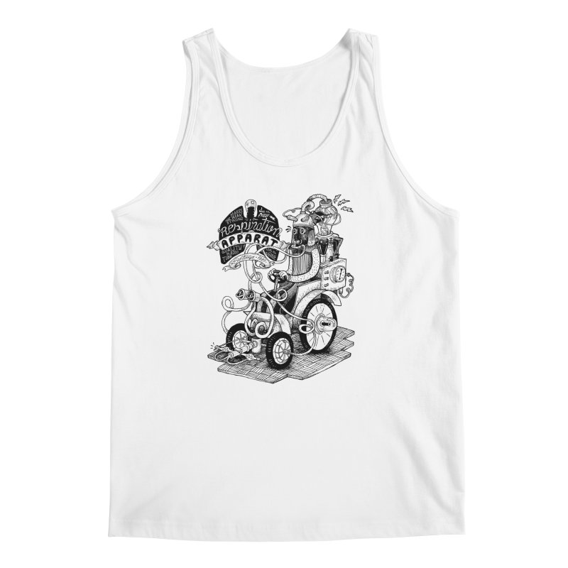 Respiration-Apparat Men's Regular Tank by MrCapdevila Artist Shop