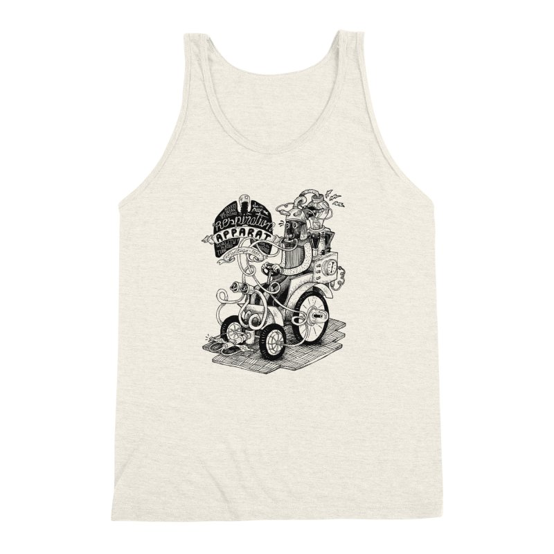 Respiration-Apparat Men's Triblend Tank by MrCapdevila Artist Shop