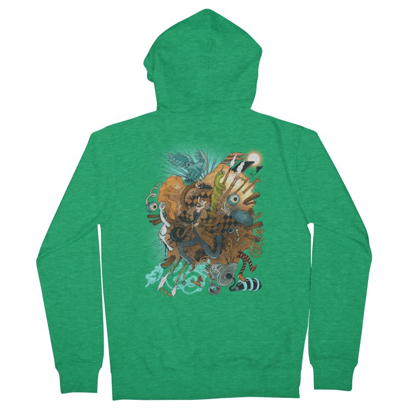 I've seen things (COLOR) Men's Zip-Up Hoody by MrCapdevila Artist Shop