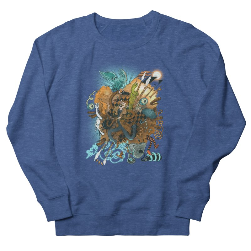 I've seen things (COLOR) Men's Sweatshirt by MrCapdevila Artist Shop