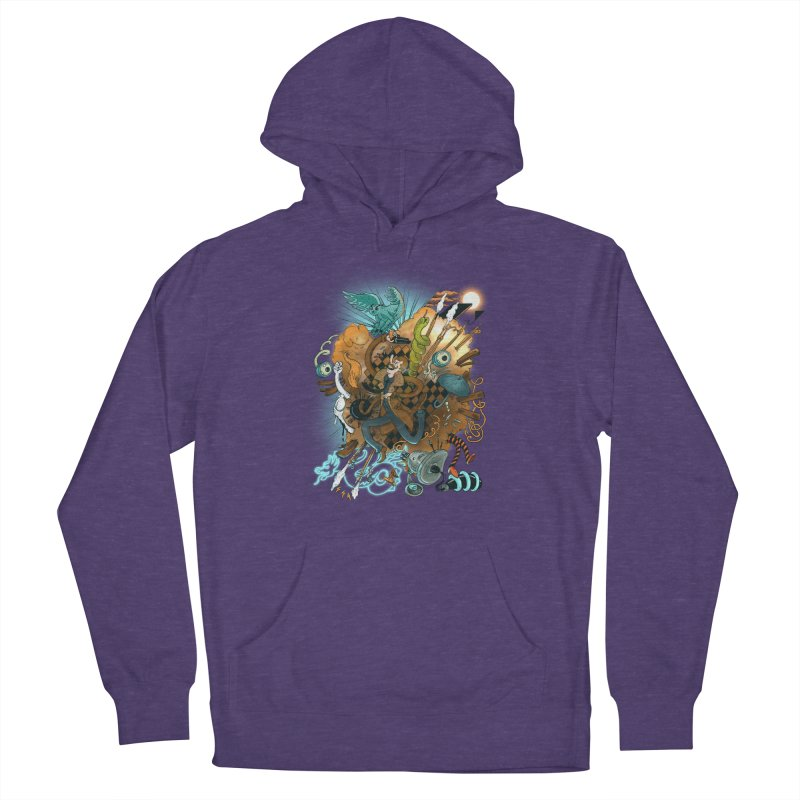 I've seen things (COLOR) Men's French Terry Pullover Hoody by MrCapdevila Artist Shop
