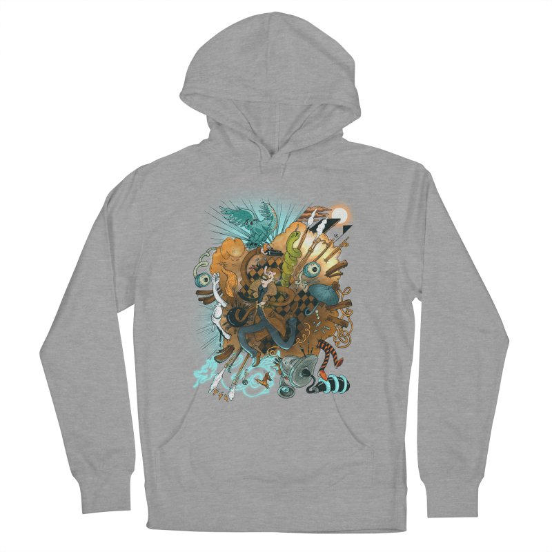 I've seen things (COLOR) Men's Pullover Hoody by MrCapdevila Artist Shop