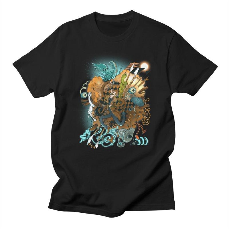 I've seen things (COLOR) Men's Regular T-Shirt by MrCapdevila Artist Shop