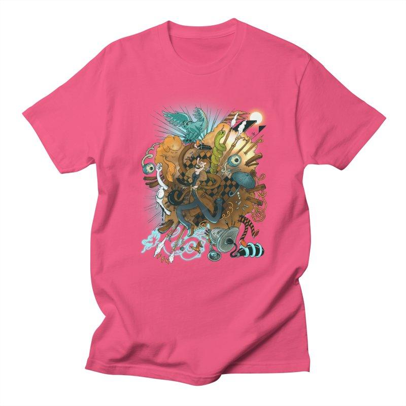 I've seen things (COLOR) Men's T-Shirt by MrCapdevila Artist Shop