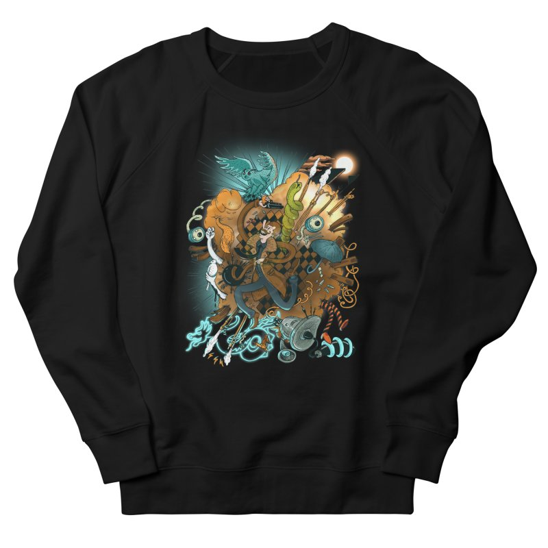I've seen things (COLOR) Men's French Terry Sweatshirt by MrCapdevila Artist Shop