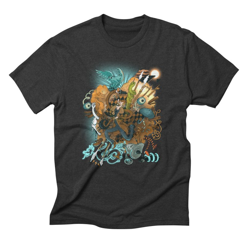 I've seen things (COLOR) Men's Triblend T-Shirt by MrCapdevila Artist Shop