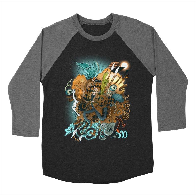 I've seen things (COLOR) Men's Baseball Triblend Longsleeve T-Shirt by MrCapdevila Artist Shop