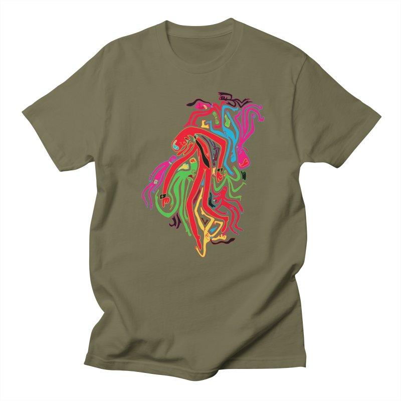 Ties! Men's T-Shirt by MrCapdevila Artist Shop