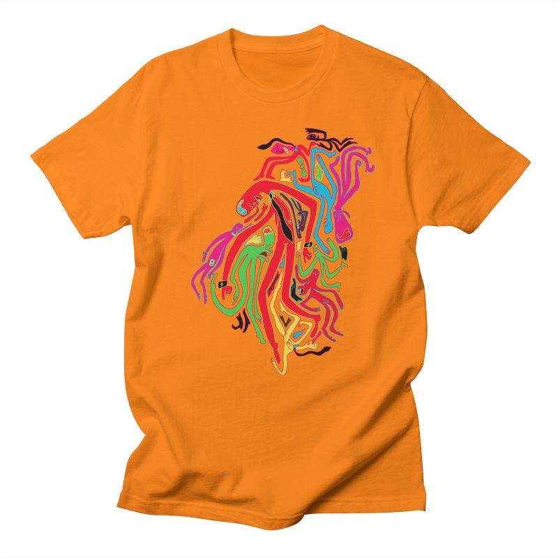 Ties! Men's Regular T-Shirt by MrCapdevila Artist Shop