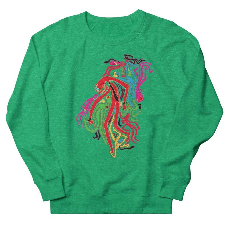 Ties! Women's French Terry Sweatshirt by MrCapdevila Artist Shop
