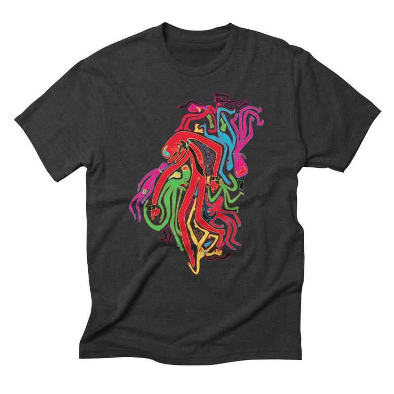 Ties! Men's Triblend T-Shirt by MrCapdevila Artist Shop