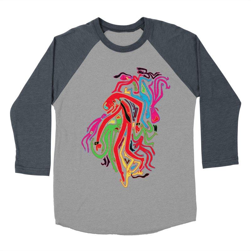 Ties! Men's Baseball Triblend Longsleeve T-Shirt by MrCapdevila Artist Shop