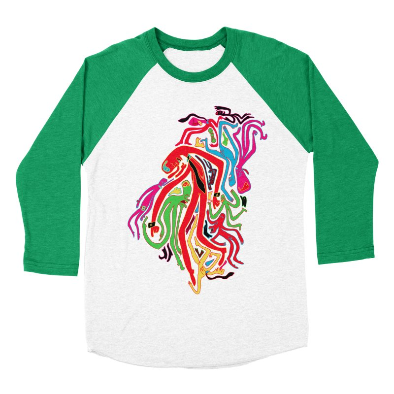 Ties! Men's Baseball Triblend T-Shirt by MrCapdevila Artist Shop