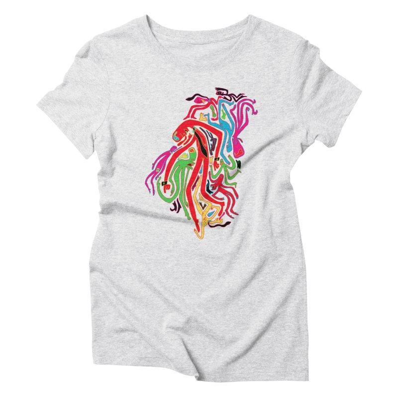 Ties! Women's Triblend T-Shirt by MrCapdevila Artist Shop