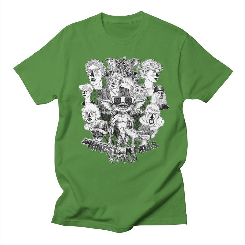 Kingstone Falls (1984) Men's Regular T-Shirt by MrCapdevila Artist Shop