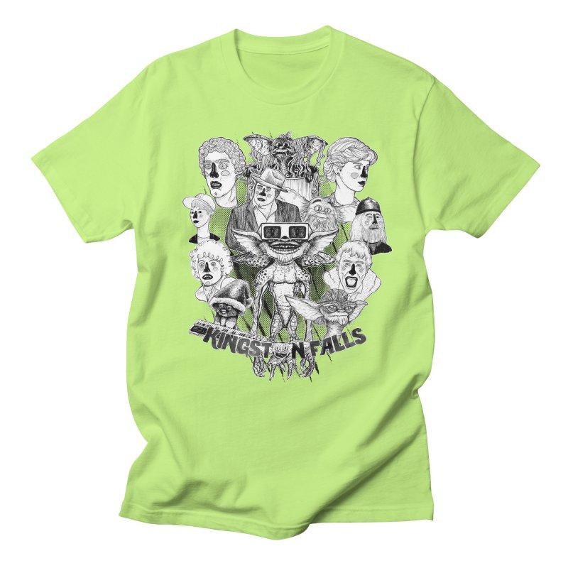 Kingstone Falls (1984) Men's T-Shirt by MrCapdevila Artist Shop