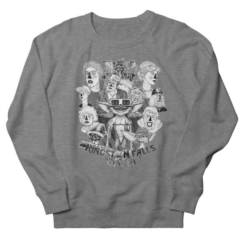 Kingstone Falls (1984) Men's French Terry Sweatshirt by MrCapdevila Artist Shop