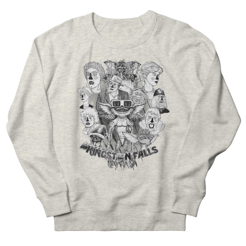 Kingstone Falls (1984) Men's Sweatshirt by MrCapdevila Artist Shop