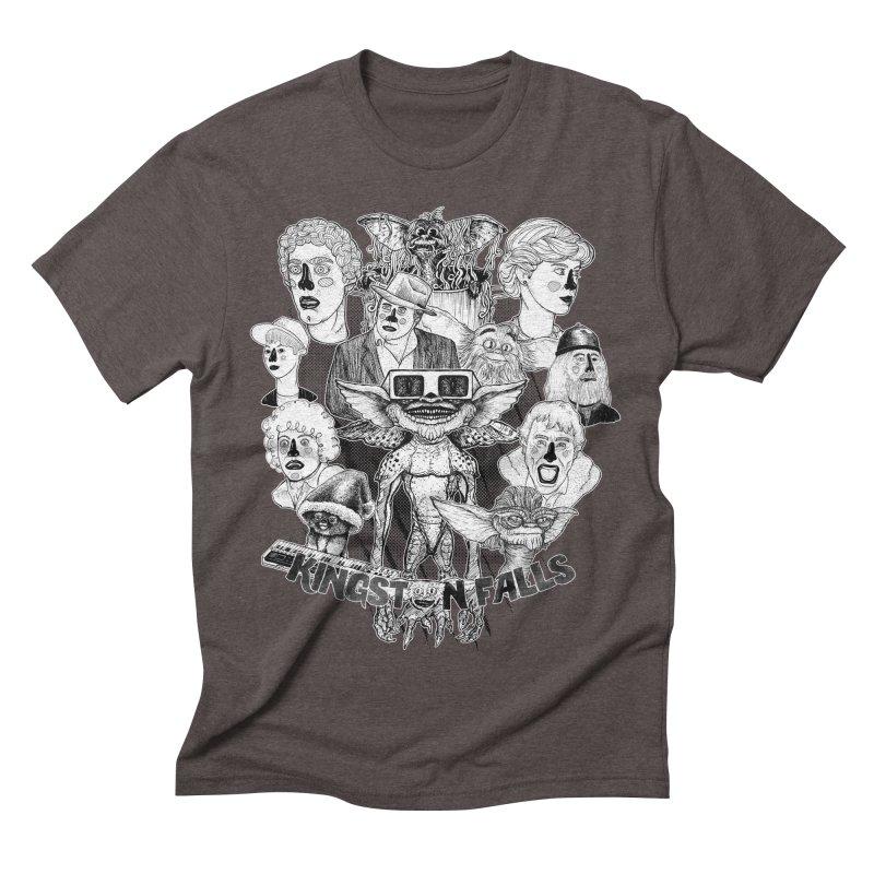 Kingstone Falls (1984) Men's Triblend T-shirt by MrCapdevila Artist Shop