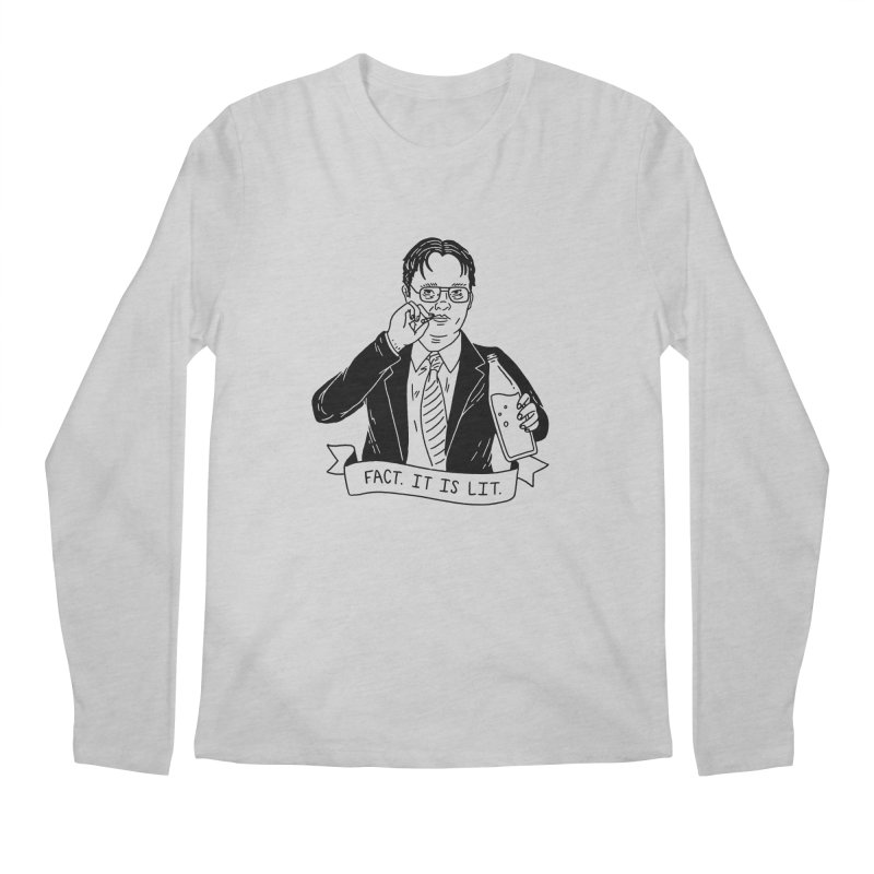 FACTS Men's Regular Longsleeve T-Shirt by Mr. Chillustrator