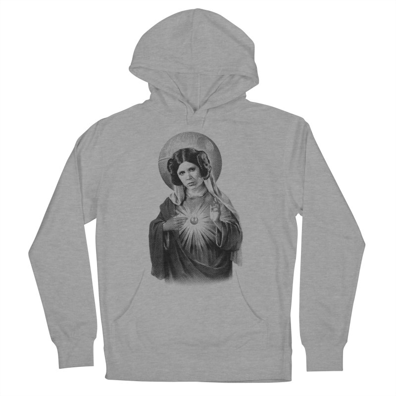 May The Force Be With You, Always Men's French Terry Pullover Hoody by Mr. Chillustrator