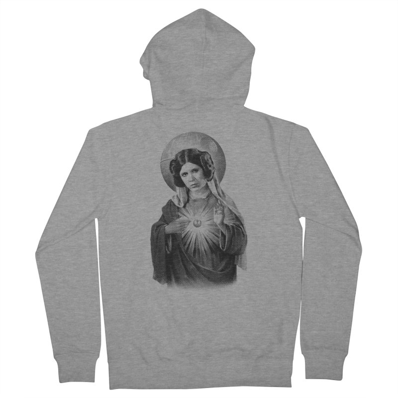 May The Force Be With You, Always Men's Zip-Up Hoody by Mr. Chillustrator